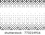 abstract futuristic halftone... | Shutterstock .eps vector #773214916