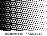abstract futuristic halftone... | Shutterstock .eps vector #773216212
