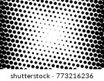 abstract futuristic halftone... | Shutterstock .eps vector #773216236