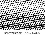 abstract futuristic halftone... | Shutterstock .eps vector #773216302
