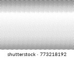 abstract futuristic halftone... | Shutterstock .eps vector #773218192