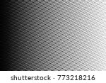 abstract futuristic halftone... | Shutterstock .eps vector #773218216