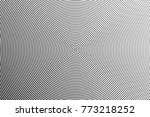 abstract futuristic halftone... | Shutterstock .eps vector #773218252