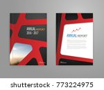 illustration of abstract red... | Shutterstock .eps vector #773224975