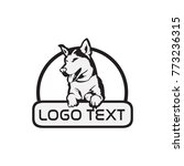 dog vector logo icon | Shutterstock .eps vector #773236315