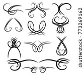 decorative monograms and... | Shutterstock .eps vector #773269162