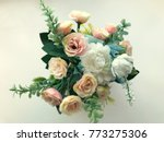 Artificial Flowers In The Vase...