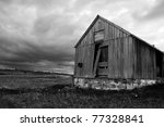 Rustic Ruins Of An Old...