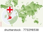 infographic for england ... | Shutterstock .eps vector #773298538