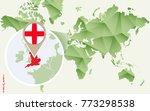infographic for england ... | Shutterstock .eps vector #773298538