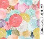 vector watercolor circles...   Shutterstock .eps vector #773305216