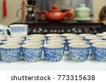 rows of traditional chinese... | Shutterstock . vector #773315638
