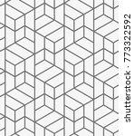 vector seamless pattern. modern ... | Shutterstock .eps vector #773322592