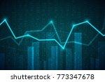 abstract infographics...   Shutterstock .eps vector #773347678