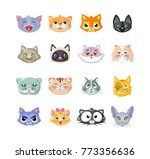 set of stickers  icons ... | Shutterstock .eps vector #773356636