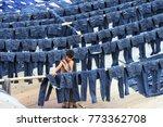 dhaka  bangladesh   july 19 ... | Shutterstock . vector #773362708