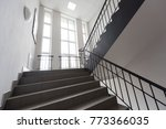 ladder in the building  offices   Shutterstock . vector #773366035