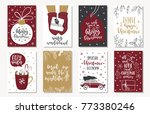 set of creative 8 journaling... | Shutterstock .eps vector #773380246