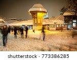 sebilj during beautiful winter... | Shutterstock . vector #773386285