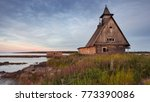 An Old Abandoned Wooden Church...