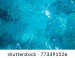 blue ocean water surface ... | Shutterstock . vector #773391526