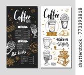 coffee and bakery restaurant... | Shutterstock .eps vector #773393818