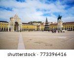 commerce square  praca do... | Shutterstock . vector #773396416