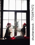 decorating home for christmas.... | Shutterstock . vector #773397472