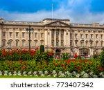 london  uk   circa june 2017 ... | Shutterstock . vector #773407342