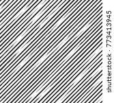 brush strokes. vector pattern... | Shutterstock .eps vector #773413945