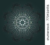 vector illustration. a blue ... | Shutterstock .eps vector #773416456