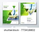 brochure template layout design.... | Shutterstock .eps vector #773418802