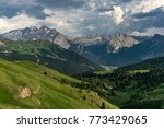 beautiful summer view of the...   Shutterstock . vector #773429065
