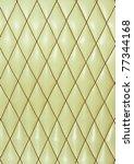 beige leather seat texture | Shutterstock . vector #77344168