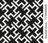 vector seamless pattern. modern ... | Shutterstock .eps vector #773449045