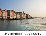 view on grand canal  in venice... | Shutterstock . vector #773483956
