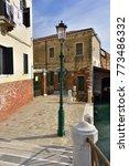 giudecca island  the street... | Shutterstock . vector #773486332
