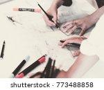 creative designers... | Shutterstock . vector #773488858