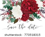 wedding save the date  invite ...   Shutterstock .eps vector #773518315