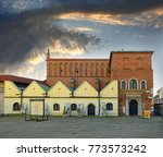 old synagogue in the historic...   Shutterstock . vector #773573242