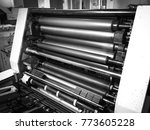 close up photo of printing... | Shutterstock . vector #773605228
