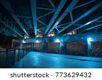 gritty and scary city skate... | Shutterstock . vector #773629432