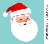 Vector Cartoon Santa Claus...