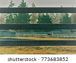 recursive photo of a fence... | Shutterstock . vector #773683852