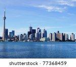Toronto Skyline - stock photo