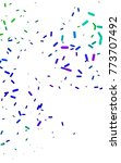 dark multicolor  rainbow... | Shutterstock . vector #773707492