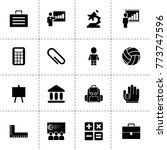 school icons. vector collection ...