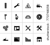 industry icons. vector...