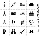 instrument icons. vector...