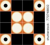 trendy geometric elements... | Shutterstock .eps vector #773748832